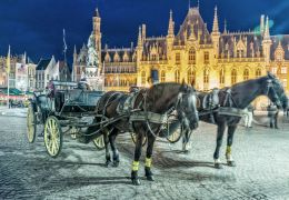 Bruges, la ville des amoureux.